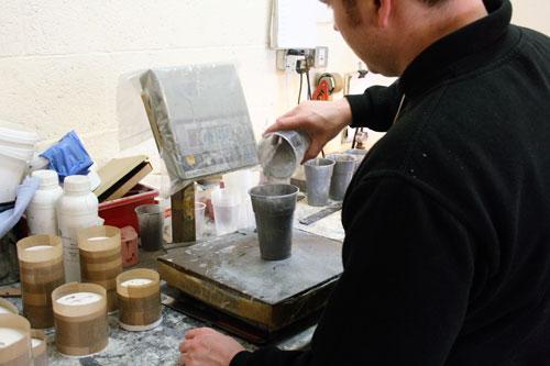 making resin